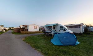 Toile de tente en Normandie