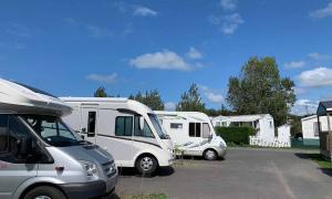Aire de camping-car à Deauville